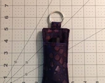 Essential oil pouch keychain