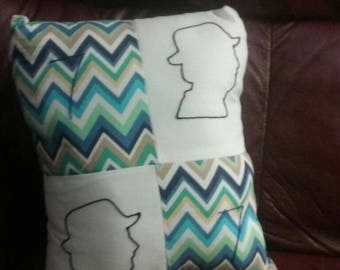 Seventh Doctor Pillow