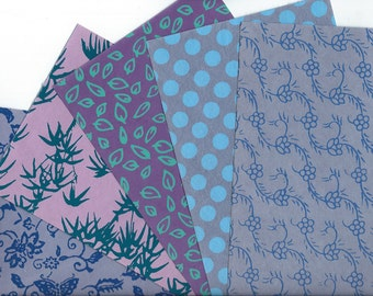 Handmade Paper 5 Sheets for DIY Card Making, Collage, Scrapbooking, Paper Arts, Mixed Media & MORE PSS 2843