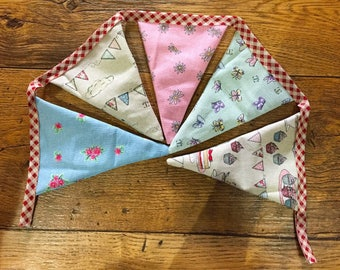 Tea Party Bunting | garden party | wedding decoration | nursery decoration | house warming gift