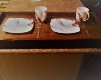 Recycled Wood Serving Tray