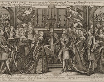 Poster, Many Sizes Available; Marriage Of Louis, Dauphin Of France 1745 At Versailles