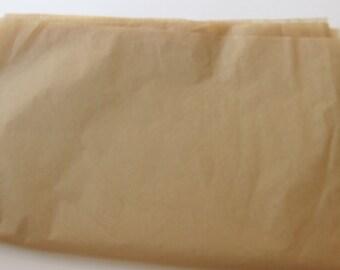 "10 Sheets of Kraft Tissue Paper (20"" x 30"")"