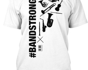 Bandstrong Fundraiser - Hanes Tagless Tee - White