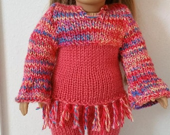 "70's Retro Outfit for American Girl (18"") Doll"