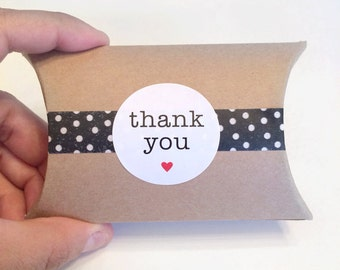 24 thank you sticker - thank you label - favor sticker - wedding round thank you sticker - wedding favors - envelope seals - circle labels
