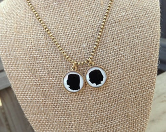 Custom Silhouette Jewelry