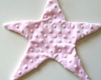 soft pink star