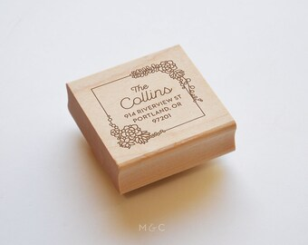 Succulent - Botanical Collection - Personalized Stamp