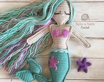 Ragdoll Mermaid Crochet Pattern