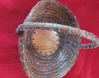 pine needle vanity basket