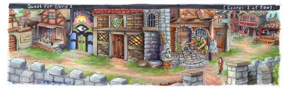 Quest for Glory - Village of Spielburg