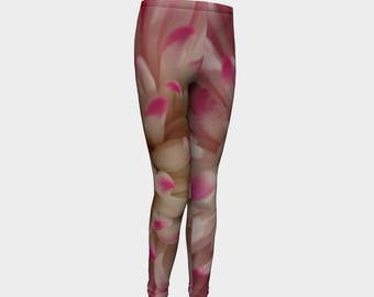 Pink Youth Leggings. Good for you. You made the right choice! Go Girl...Spring or summer.