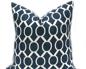 15% Off Sale Navy Throw Pillow, Decorative Pillow, Navy Pillow Cover, Pillow covers, Throw Pillows,  Navy Blue, Pillows,  Blue Cushion Cover