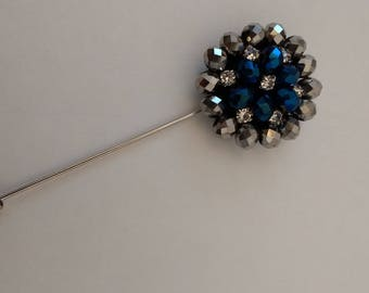 Men's Lapel Pin.....Beaded Lapel Pin