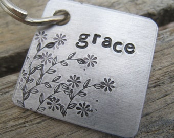 Pet Tag - Personalized Dog Tag - Dog Collar - ID Tag - Engraved Dog Tag - Handsatmped Pet Tag - Copper Dog Tag