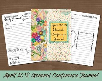 April 2018 General Conference Journal