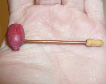 Miniature Pipe Collectible Handmade Pipe Made in France Tiny Rare Pipe by VintageReinvented