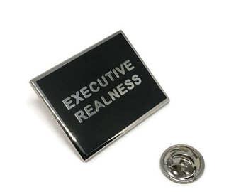 Executive Realness Lapel Pin | Drag Culture | Paris is Burning | Fan Art