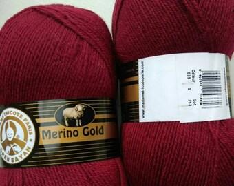 Madame Tricote Merino Gold, 100 g 400 m, Winter Yarn