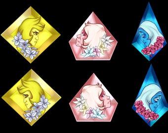 Steven Universe Diamonds Charm-Preorder