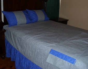 Skirted Fitted Sheet Set (Queen Size)