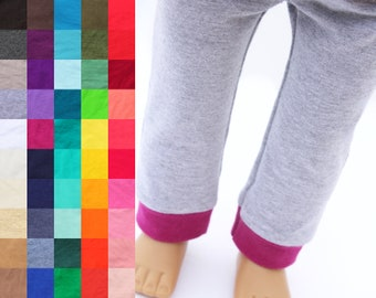 Fits like American Girl Doll Clothes - Jogger Pants, You Choose Colors | 18 Inch Doll Clothes