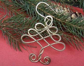 Keltischer Baum Weihnachten Ornament, Messing-Feiertags-Verzierung, Urlaub Dekoration Home Decor handgemachte Weihnachtsgeschenk, Christbaumschmuck