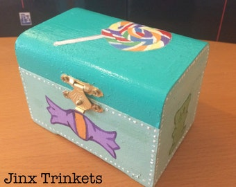 Candy trinket box