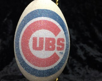 Chicago Cubs World Series Ornament