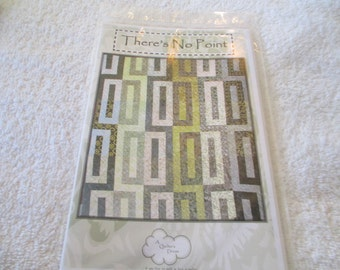 Paper Pattern for a quilt called There's No Point designed by A Quilter's Dream