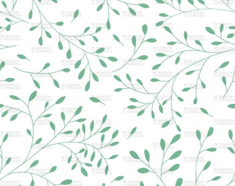 Leaves Fabric by AgatheSTS
