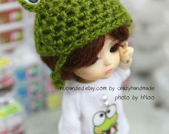 Lati Yellow Outfit /pukifee Frog hat