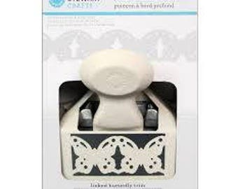 LINKED BUTTERFLY Deep Edge Punch by Martha Stewart