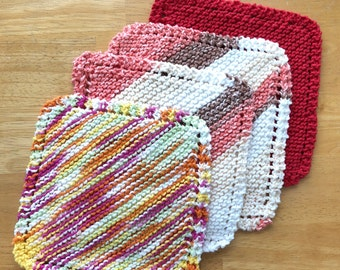 Dish Cloths Knitted