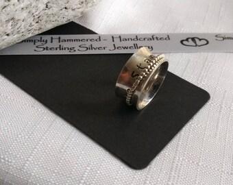 Personalised Spinner Ring