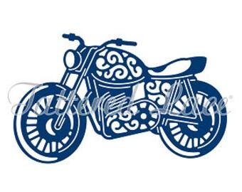 Tattered Lace Die Motorcycle ETL450
