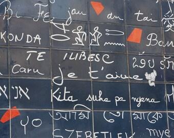 Paris Decor- Je t'aime (I Love You) - Fine Art Photography,  Paris Photography
