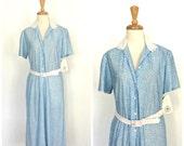1940s Style Dress - 70s d...
