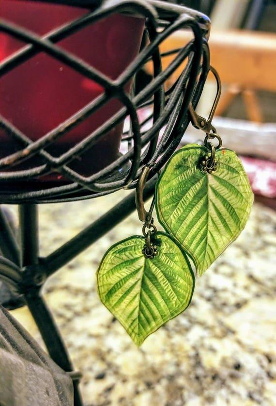 Aspen Leaf Earrings