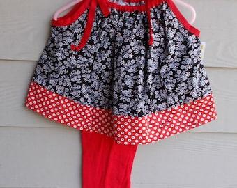 2 pc 100% cotton 18-24Mth Toddler loungewear, jammies, pajama set, toddler pajama set, sleepwear, activewear, playwear, leggings and t shirt