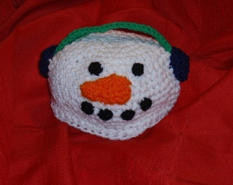 Snowman Beanies Infants to Adult Sizes to Crochet Pattern PDF 305