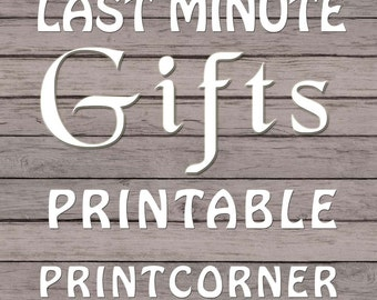 Last Minute Gift, Printable, Personalized Gift, Graduation Gift, Wedding Gift, Retirement Appreciation, Appreciation Gift
