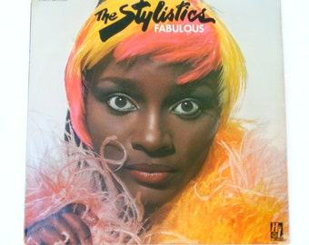 "The Stylistics - Fabulous - ""Can't Help Falling In Love"" - ""It's So Good"" - Soul Music - H&L Records 1976 - Vintage Vinyl LP Record Album"