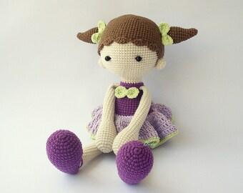 PDF Didi doll, Balerina doll, Crochet Pattern - Doll Crochet Toy,  DIY tutorial