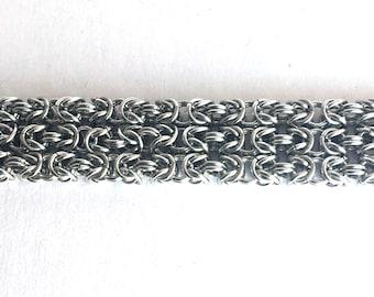 Triple Strand Byzantine Bracelet