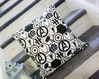 Avengers, logo, thor, captain america, hulk, iornman, iron man, cushion pillow super hero character cushion pillow