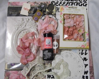 Prima Tales of You and Me Scrapbooking Mixed Media Kit