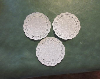 Paper Doilies white 4in.