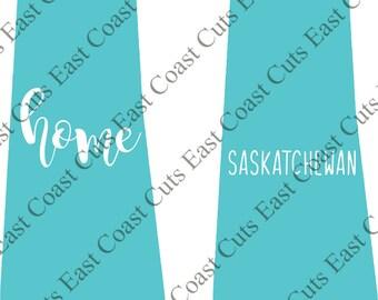 Saskatchewan SVG/DXF/PNG